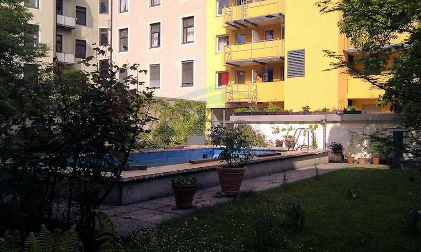 Bild 3: Sehr ruhiges 1 Zimmer Apartment mit Schwimmbad im Innenhof, München-Haidhausen