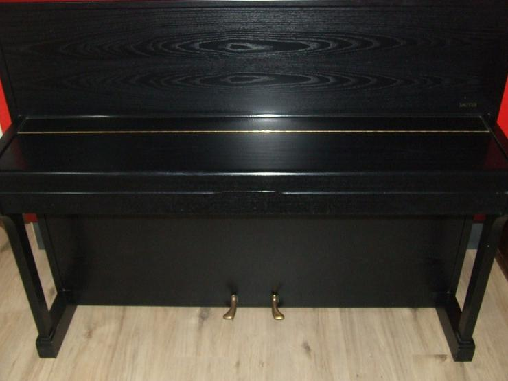 Bild 3: Sauter Klavier Carus 112, Esche schwarz sat.