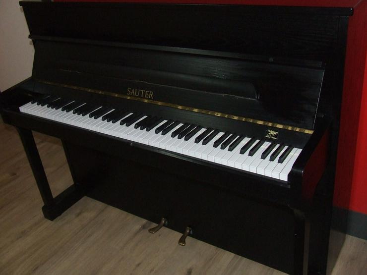 Bild 4: Sauter Klavier Carus 112, Esche schwarz sat.