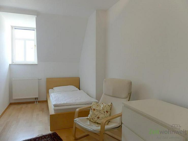 Bild 6: (EF0335_M) Dresden: Klotzsche, möblierte 3-Zimmer-Etagenwohnung mit Balkon im traumhaft s...