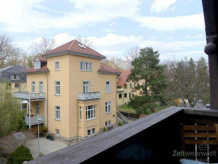 Bild 4: (EF0335_M) Dresden: Klotzsche, möblierte 3-Zimmer-Etagenwohnung mit Balkon im traumhaft s...