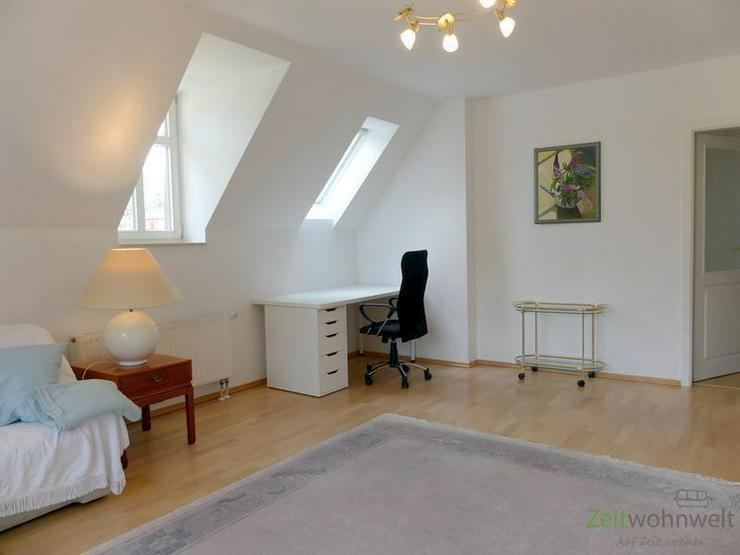 Bild 2: (EF0335_M) Dresden: Klotzsche, möblierte 3-Zimmer-Etagenwohnung mit Balkon im traumhaft s...