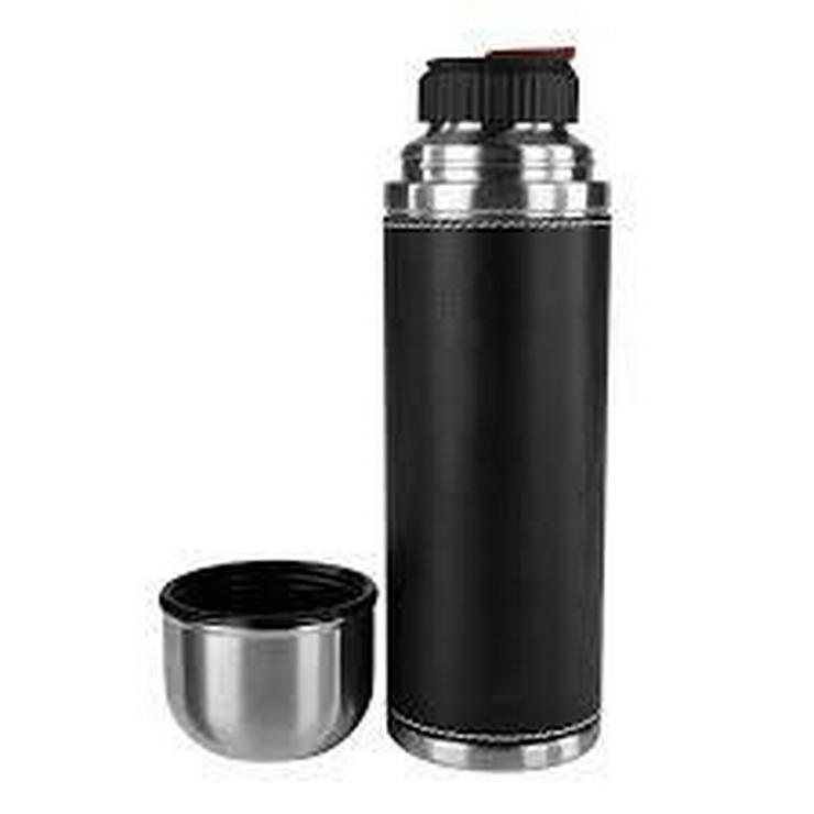 Bild 2: Emsa 502435 Isolierflasche mit Leder - 0,7 l