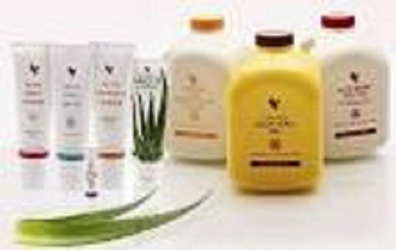 Bild 4: BABOR- + Aloe-Vera-Produkte von Forever