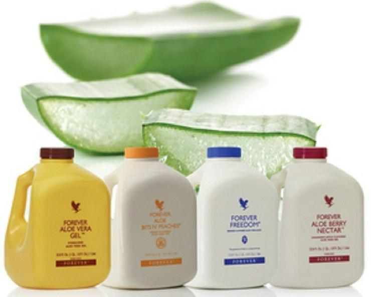 Bild 3: BABOR- + Aloe-Vera-Produkte von Forever