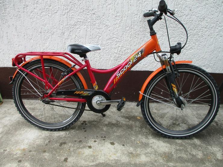Jugendfahrrad 24 Zoll von Scool Versand mög - Kinderfahrräder - Bild 1