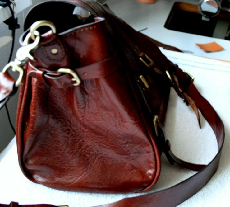Bild 2: Tasche Leder Vintage Handmade Luxus