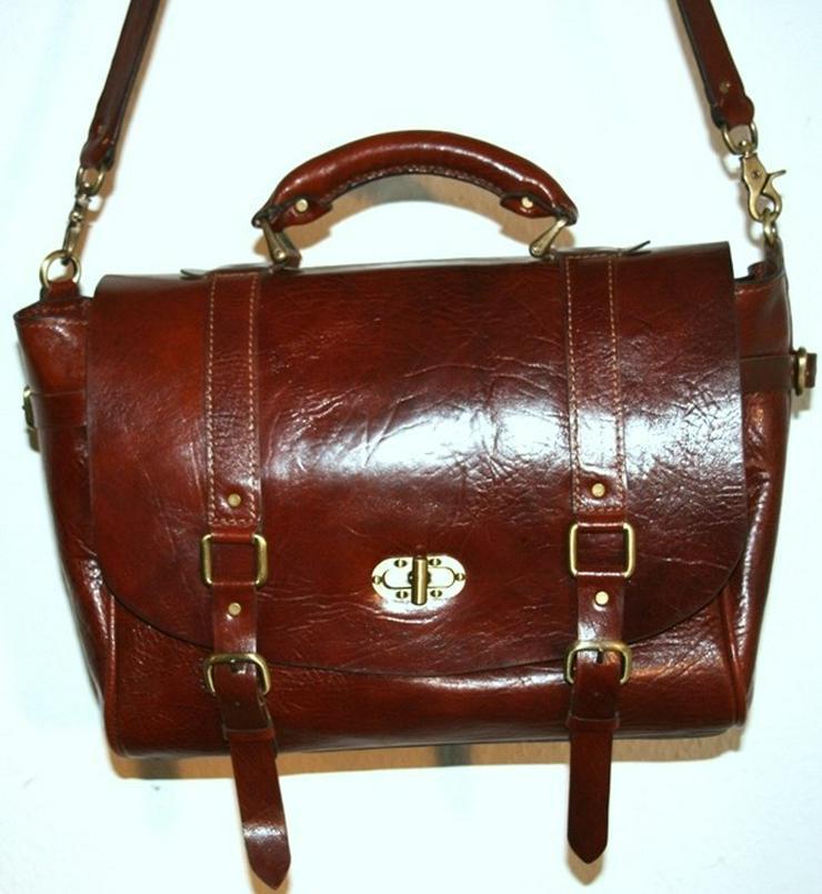 Bild 4: Tasche Leder Vintage Handmade Luxus