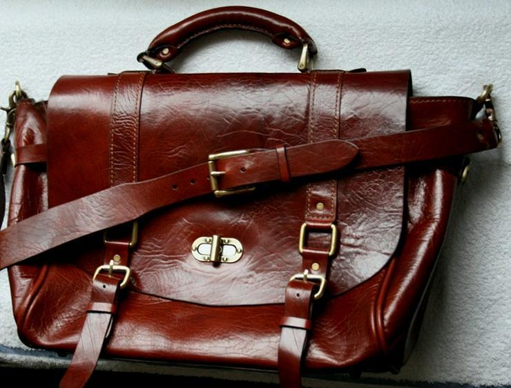 Bild 6: Tasche Leder Vintage Handmade Luxus