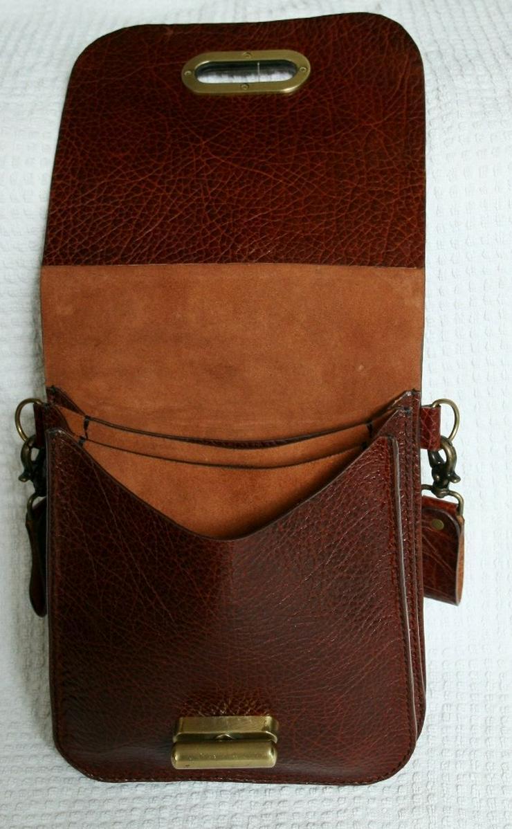 Bild 3: Herren,Damen Gürteltasche Leder Handmade