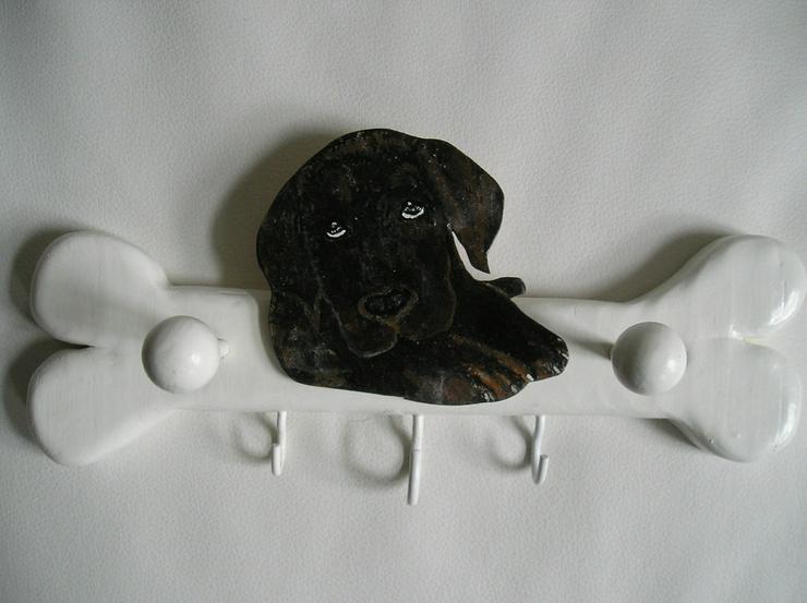 Labrador / Hundeleinengarderobe / Handgemalt!