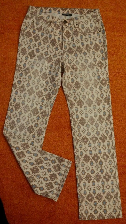 NEU Damen Hose ausgefallen Stretch Gr.42 - Bild 1