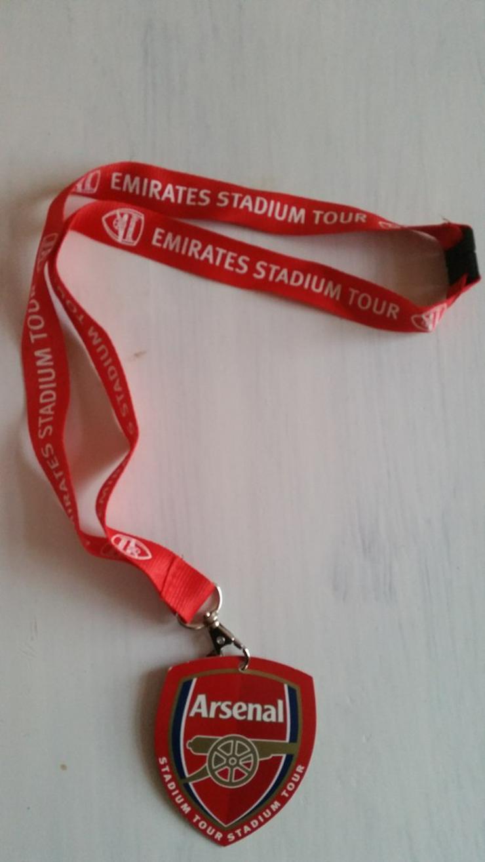 FC Arsenal London Lanyard Schlüsselband-Neu