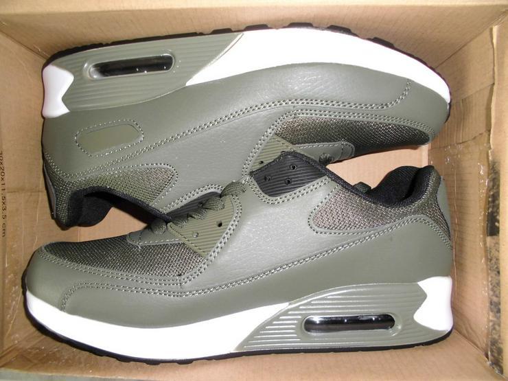 Bild 1: Neue Herren Sneakers in Army Green Größe 42
