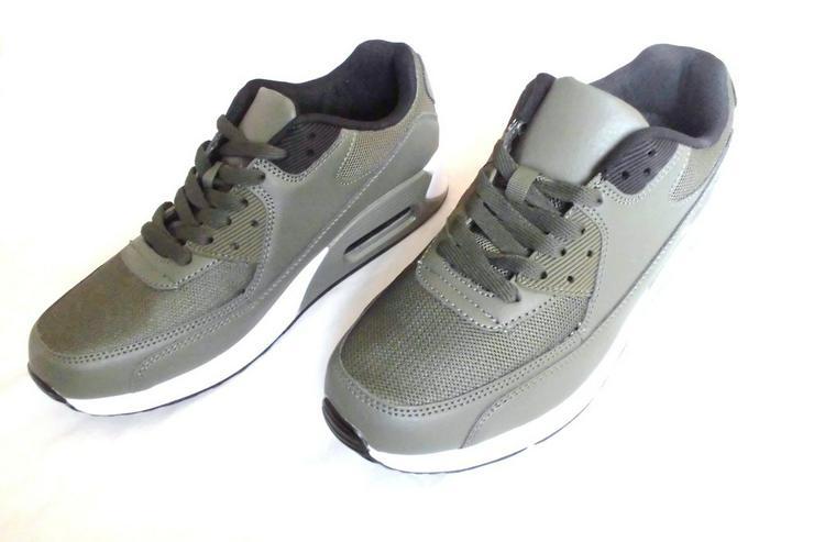 Neue Herren Sneakers in Army Green Größe 42 - Größe 42 - Bild 2