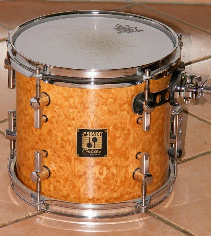 Bild 5: Schlagzeug Sonor Delite Birdseye Maple Shellset
