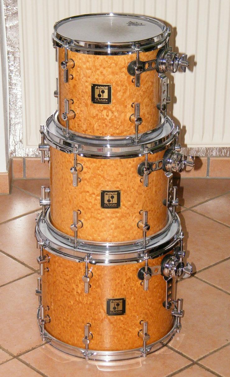 Schlagzeug Sonor Delite Birdseye Maple Shellset