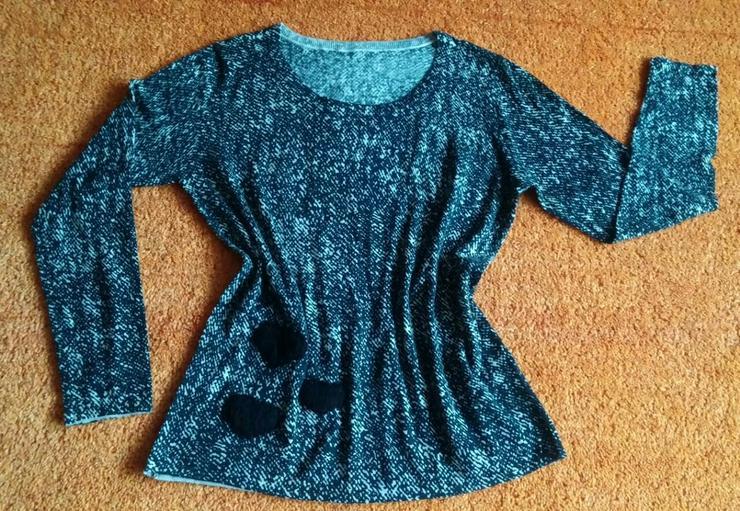 NEU Damen Pullover Wolle fein Strick Gr.42