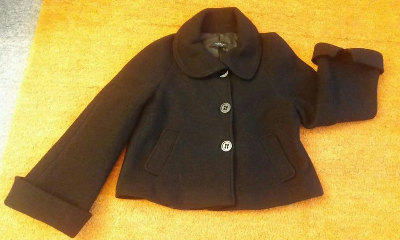Damen Jacke Designer Woll Blazer weich Gr.40