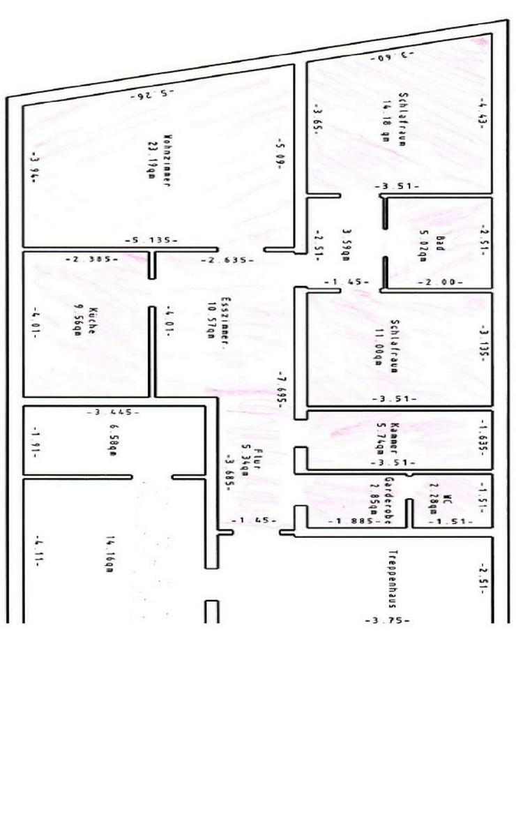 3 Zimmerwohnung für Gewerbliche Nutzung