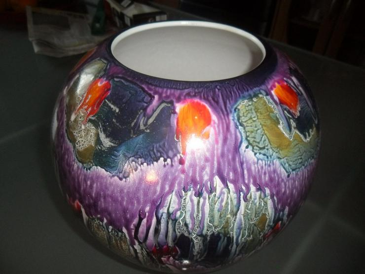 Bild 2: Wunderschöne antike Vase   Porzellan  handgemat