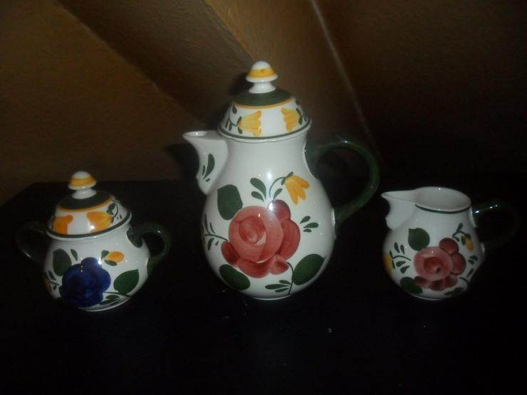 Bild 2: Villeroy & Boch Bauernblume  Kaffeezubehör