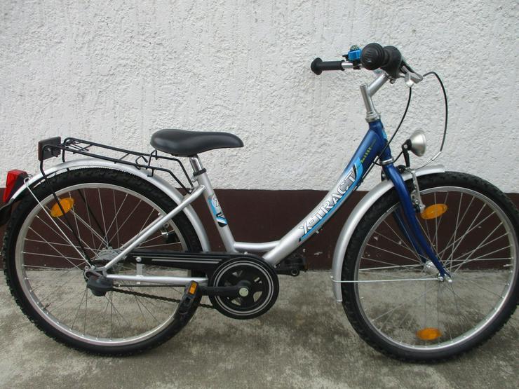 Kinderfahrrad 24 Zoll von X Trakt, 7 Gänge, Ve - Kinderfahrräder - Bild 1