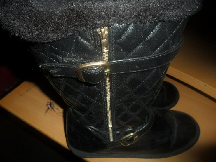 Damen Stiefel  schwarz