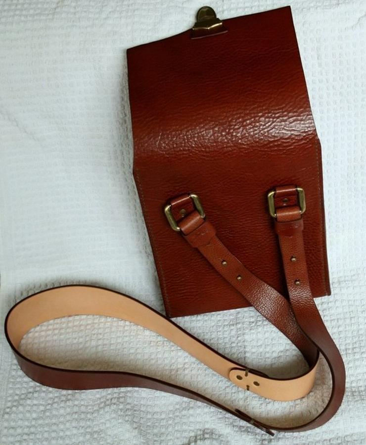Bild 2: Schultertasche Echt Leder Handmade