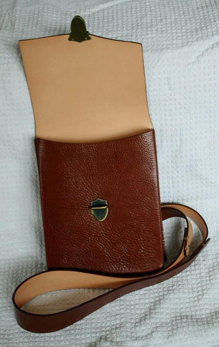 Bild 3: Schultertasche Echt Leder Handmade