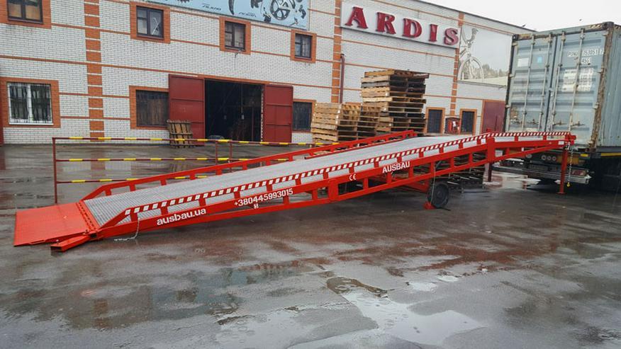 Mobile Laderampe AUSBAU von Hersteller