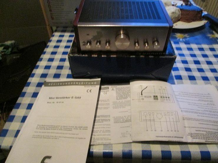 Amplifier Verstärker E SA 9 OVP 15.-