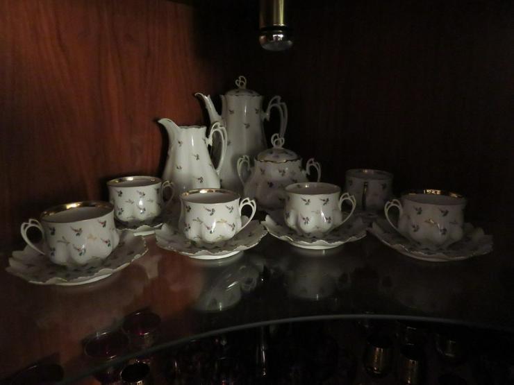 Antikes 15 Teiliges Kaffe-Tee Garnitur