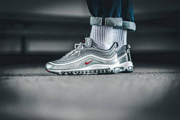 Nike Air Max 97 Silver Bullet OG QS Sneaker - Größe 43 - Bild 1