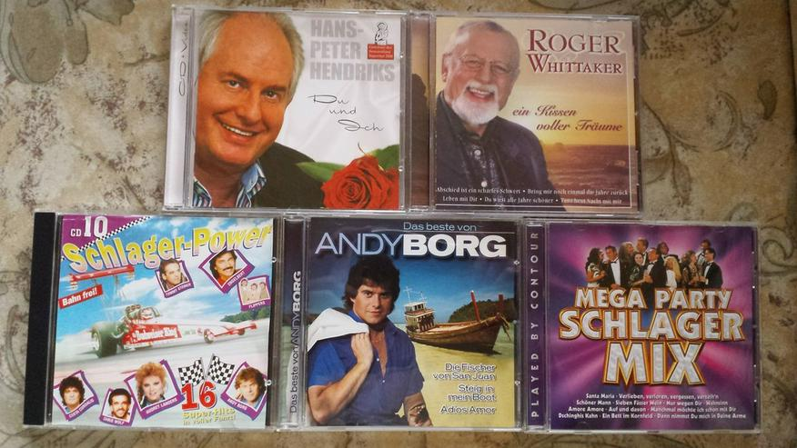 11 CD Schlager und Volksmusik
