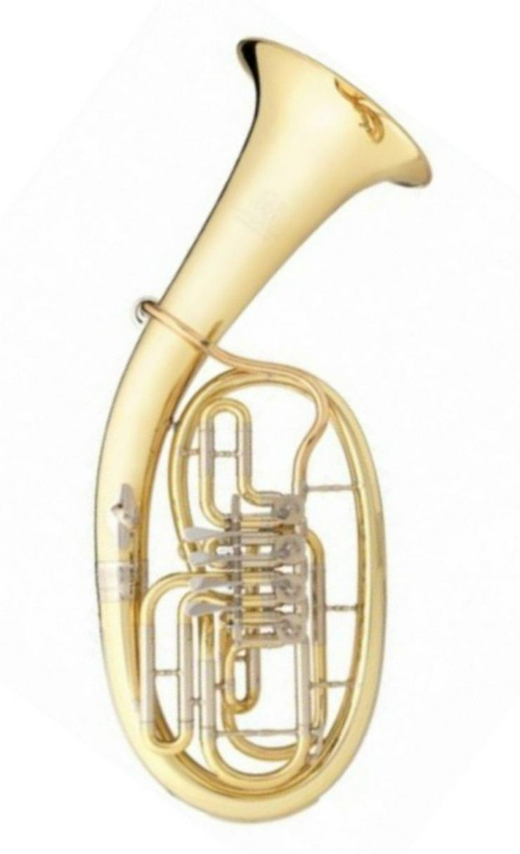 B&S Tenorhorn 4 Ventile Modell 33/2-L, Neuware - Bild 1