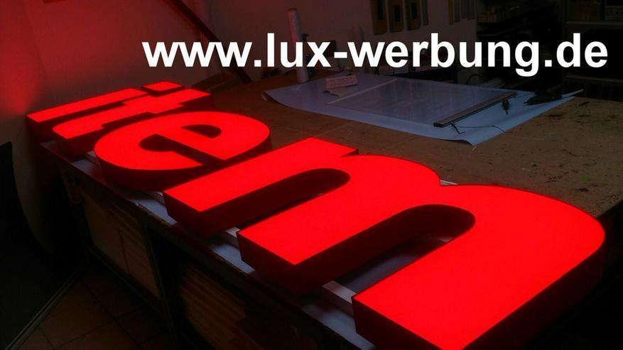 Bild 16: 3D Leuchtwerbung Leuchtreklame Außenwerbung LED