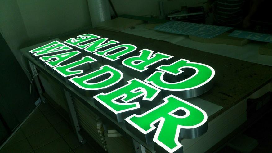 Bild 18: 3D Leuchtwerbung Leuchtreklame Außenwerbung LED