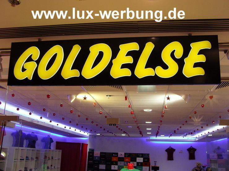 Außenwerbung Werbeanlage Leuchtreklame Berlin - Gewerbeimmobilie mieten - Bild 1