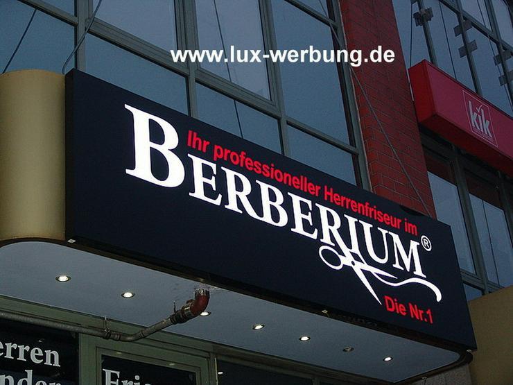 Bild 5: Außenwerbung Werbeanlage Leuchtreklame Berlin