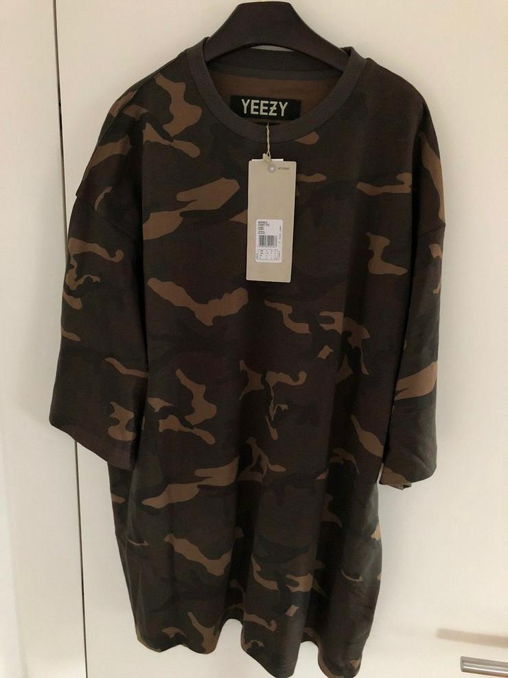 Adidas Yeezy Season 1 Camo Tee Shirt Boxy YZY