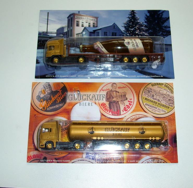 Bild 2: Glückauf-Brauerei Trucks
