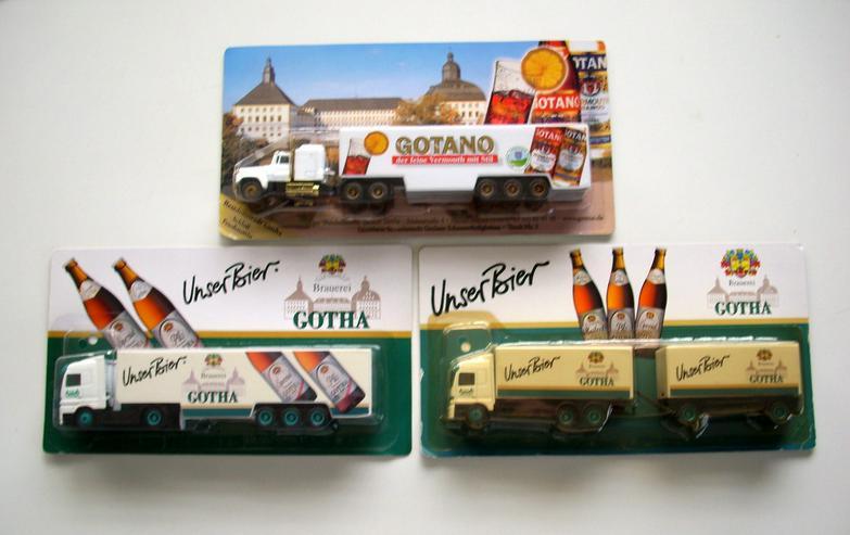 Gotha-Brauerei Trucks - Spielwaren - Bild 1