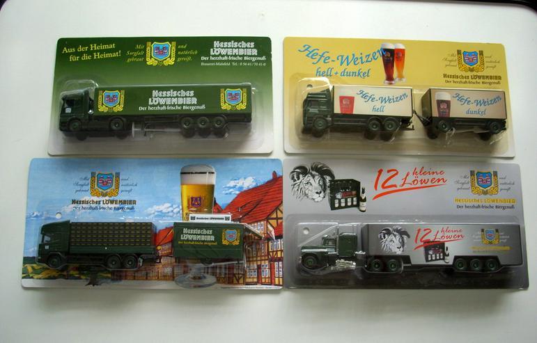 Hessisches Löwenbier Trucks - Spielwaren - Bild 1