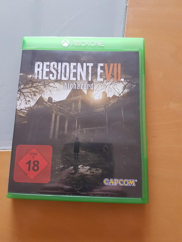 Xbox One Resident Evil Biohazard Top Zustand