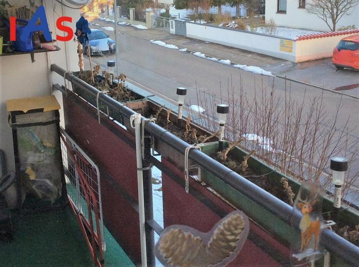 Bild 2: TOP Kapitalanlage ! Vermietete Wohnung mit Balkon im Osten der Saturn-Arena zu verkaufen!