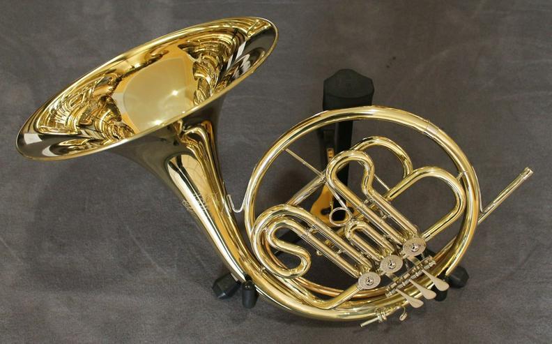 Hans Hoyer B - Waldhorn, Mod 702 inkl. Koffer - Blasinstrumente - Bild 1