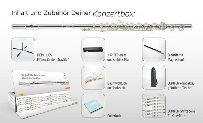 Bild 4: Jupiter JFL700EC-CBox Querflöte Konzertbox, Neu