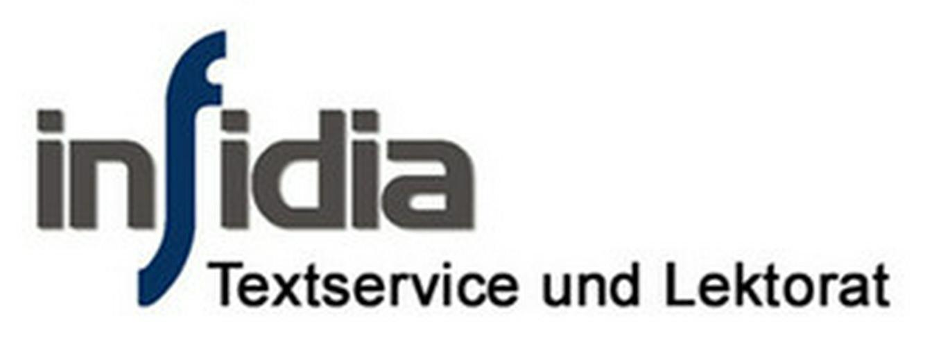 infidia Textservice und Lektorat