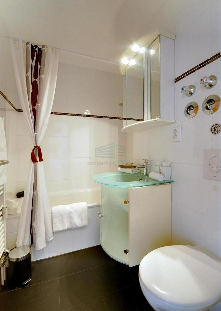 Bild 6: Provisionsfrei! Sehr schönes möbliertes 1-Zi. Appartement mit Balkon und Garage in Münc...